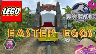 getlinkyoutube.com-Lego: Jurassic World - Easter Eggs