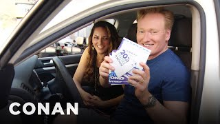 Conan-Helps-His-Assistant-Buy-A-New-Car-CONAN-on-TBS width=