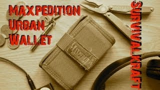 getlinkyoutube.com-Maxpedition Urban Wallet Review