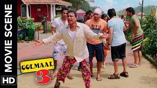 Bum Chiki Chiki Bum | Golmaal 3 | Comedy Movie Scene width=