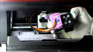 getlinkyoutube.com-HP 2050 e 3050 instalando o bulk ink