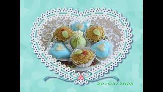 getlinkyoutube.com-Quelques uns de mes confections de gâteaux algeriens.