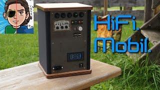 getlinkyoutube.com-Mobile Lautsprecherbox selber bauen