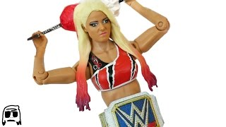 getlinkyoutube.com-Alexa Bliss WWE Smackdown Womens Champion Custom Fix Up Toy Elite 3D Print Fig Hack!!