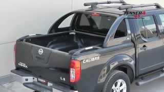 getlinkyoutube.com-At www.accessories-4x4.com: Nissan Navara D40 unique cover lid 4x4 off road 4wd accessories