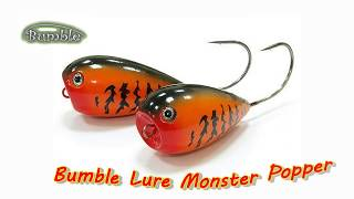 getlinkyoutube.com-Хорватское яйцо поппер (Bumble Lure Monster P-9)