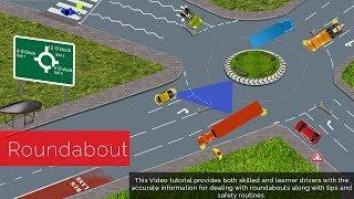 getlinkyoutube.com-How To Negotiate Roundabouts