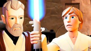 getlinkyoutube.com-Disney Infinity 3.0 Obi-Wan Tells Luke That Darth Vader Killed His Father