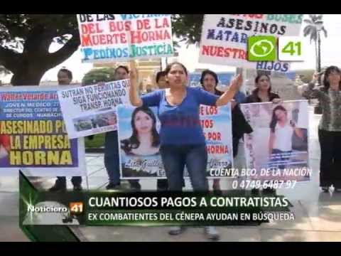 NOTA PROTESTA FAMILIARES DE DESAPARECIDOS EN ACCIDENTE 20 MAYO+ OZ_xvid
