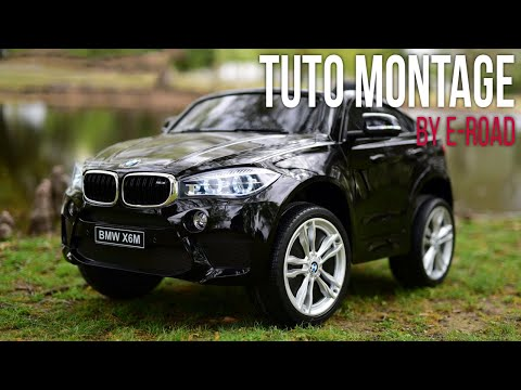 E-ROAD TUTO MONTAGE de la BMW X6M 1 place