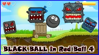 getlinkyoutube.com-Red Ball 4 full game finished; complete walkthrough with BLACK BALL.