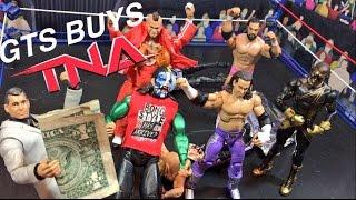 getlinkyoutube.com-GTS WRESTLING: BUYING TNA! WWE Mattel Figure Matches Animation PPV Event!