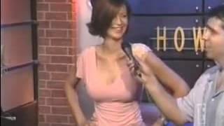 Catherine Bell Shows Tits Are Real On Howard Stern Show