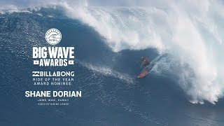 getlinkyoutube.com-Shane Dorian on his Ride of the Year Nominated Jaws Wave - WSL Big Wave Awards 2015