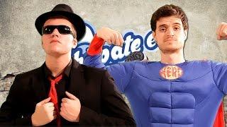 getlinkyoutube.com-¿Héroe o Villano? | Zarcort Vs Keyblade | Batalla de Rap