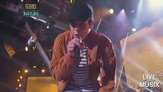 getlinkyoutube.com-Austin Mahone - Dirty work (Live 2015 Pitbull New Year's Eve in Miami,Florida)