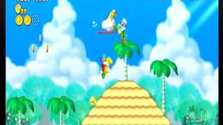 getlinkyoutube.com-New スーパーマリオブラザーズ Wii 4-5