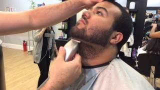 getlinkyoutube.com-How to Line Up a Beard - Beard Shape up