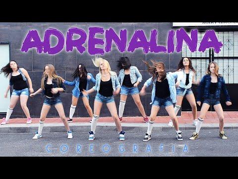 Academia De Baile Mary Girona - Coreografía Adrenalina (Wisin ft Jennifer Lopez y Ricky Martin)