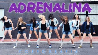 getlinkyoutube.com-Academia De Baile Mary Girona - Coreografía Adrenalina (Wisin ft Jennifer Lopez y Ricky Martin)