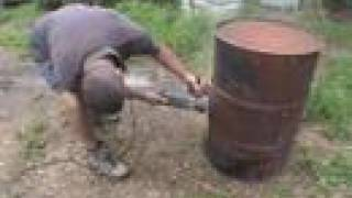 getlinkyoutube.com-How to build an Oil Drum Barbecue BBQ