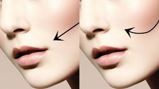 getlinkyoutube.com-QUICK TIP: TWO DIFFERENT WAYS TO CONTOUR YOUR CHEEKS!