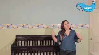 getlinkyoutube.com-decora facil y rapido el cuarto de tu bebe con comex