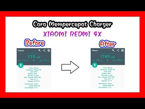 Cara Ngecas Cepat Xiaomi Redmi 4x