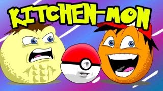 getlinkyoutube.com-Annoying Orange - Kitchen-mon! (Pokemon Spoof)