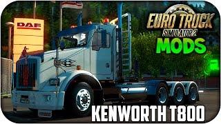 getlinkyoutube.com-kenworth T800 V2.0 | nuevas cabinas e interiores | Euro truck simulator 2 | 1.17.x