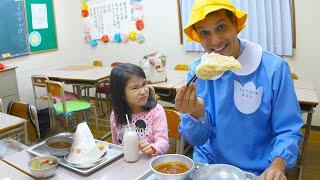 World's Best School Lunch ★ ONLY in JAPAN