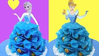 getlinkyoutube.com-Centro de mesa de Princesas con Chupa Chups o caramelos. Lollipop princess