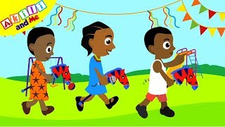 Learn Swahili and English with Akili and Me | Bilingual Learning for Preschoolers width=