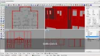 getlinkyoutube.com-Rhino 3D archviz modeling process