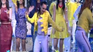 getlinkyoutube.com-مابيل و انيس و رقص طلاب ستار اكاديمي 11 مع الاساتذة We Will rock you
