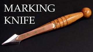 Making a retro marking knife