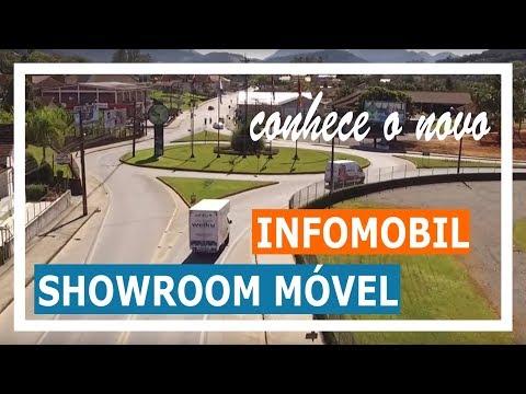 Infomobil o showroom móvel da Weiku - Esquadrias de PVC
