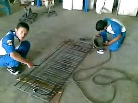 Terali Minimalis Pengaman Jendela Produk Teknik Pengelasan SMK 2 Banda Aceh .mp4