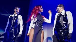 Shy'm : sa terrible chute lors de son concert à Bercy