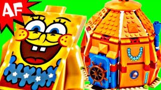 Lego Spongebob UNDERSEA PARTY Set 3818 Animated Building Review