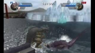 getlinkyoutube.com-Baragon43 request battle 1: Baragon vs Varan