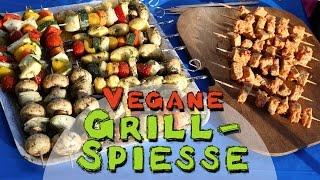 getlinkyoutube.com-REZEPT Vegane Grill-Spieße | Perfekt zum Grillen