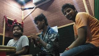 धनजय धङकन LIVE REACOADING IN DELHI STUDIO
