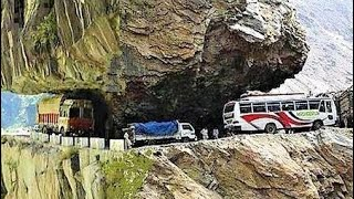 getlinkyoutube.com-Worlds most dangerous & beautiful road , shimla to manali , himachalpradesh , India