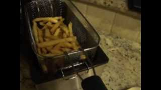 french fries using hamilton beach deep fryer