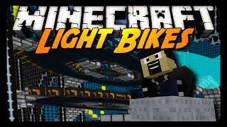 getlinkyoutube.com-Minecraft: I DOMINATE LIGHT BIKES! w/ AntVenom & Friends!