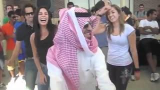 سعودي فالها بـ امريكا | إستهبال