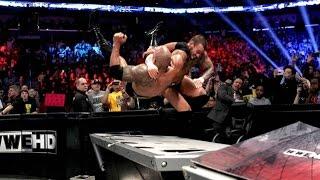 getlinkyoutube.com-CM Punk Vs The Rock II - Highlights - Elimination Chamber 2013 - (HD)