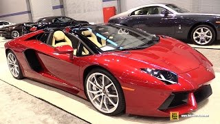 getlinkyoutube.com-2015 Lamborghini Aventador LP700-4 - Exterior and Interior Walkaround - 2015 Chicago Auto Show
