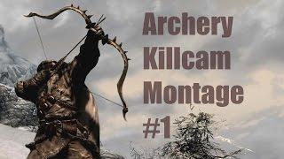 getlinkyoutube.com-Skyrim Archery Killcam Montage #1